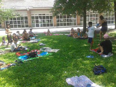 Más de 230 chicos parejenses disfrutan de las colonias en Sportivo y argentino.