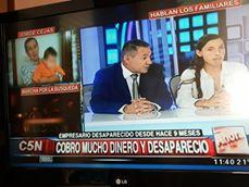 Stella Cejas acompañada por su abogado Hugo Argañaraz finalmente llegaron a los medios nacionales.