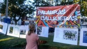 Este viernes ¨Palabras Callejeras¨ en la Plaza Flotron.