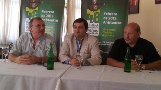 Las Rosas. Se presentó la 48º edición del Festival Internacional de Peñas de Villa María.