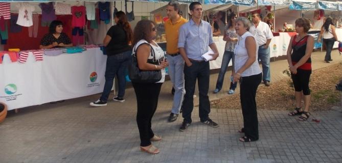 Cañada de Gómez. Actividad en el paseo de emprendedores durante enero.