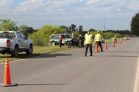 Cañada de Gómez. En enero retuvieron 22 automóviles en controles de alcoholemia.