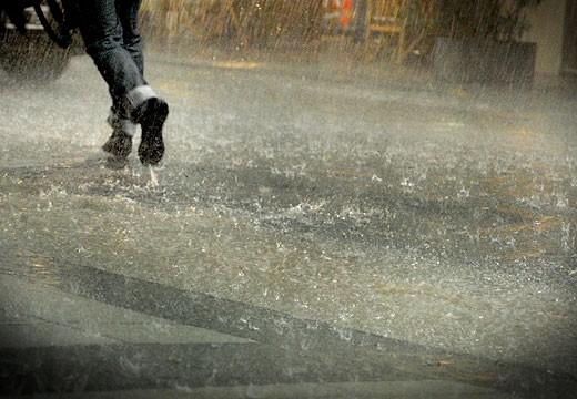 Alerta Meteorológico Por Lluvias y Tormentas Intensas del 12 de Enero.