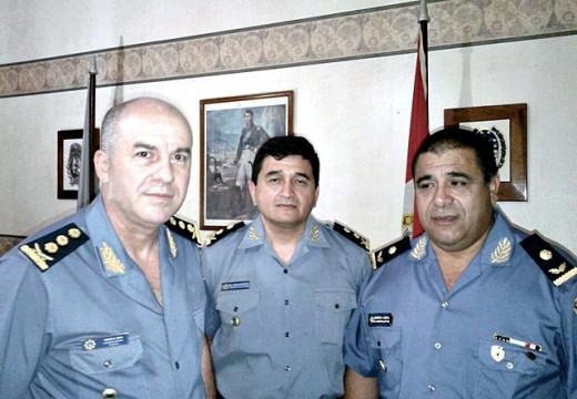 Nuevos jefes en la Unidad Regional III de Policía.