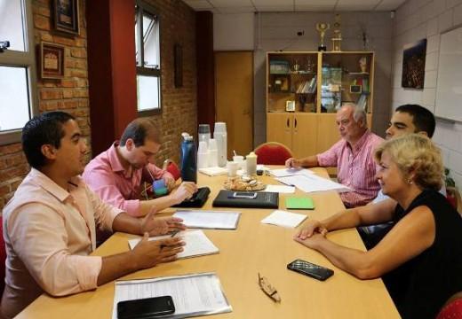 Cañada de Gómez. Autoridades municipales se reunieron con representantes del Ministerio de Seguridad de la Nación.