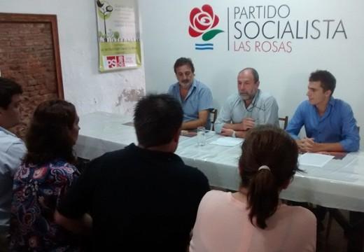Carletti bajó su candidatura. Mario Ramos es la propuesta para intendente.