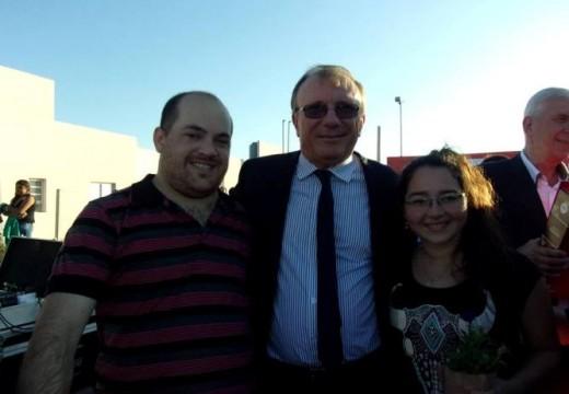 El Senador Alberto Crossetti estuvo presente en la entrega de las 168 viviendas en las Rosas.
