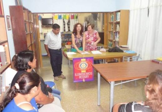Rotary Club Armstrong realizó una nueva  entrega de Becas.