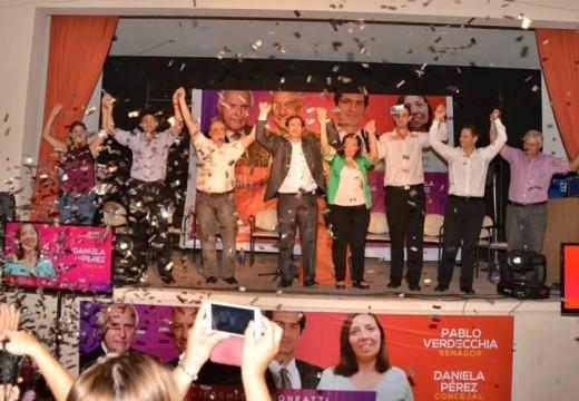 Armstrong. Lanzamiento de Campaña de  Pablo Verdecchia precandidato a Senador y presentación de lista de concejales.