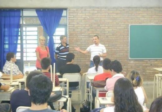 Inicio de un Nuevo año de la Universidad en Las Parejas.