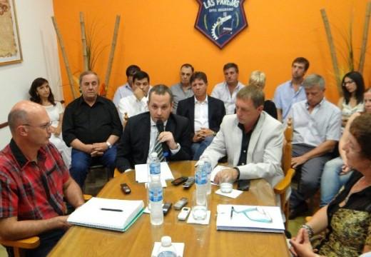 Diego Mansilla dio inicio de sesiones ordinarias del concejo.