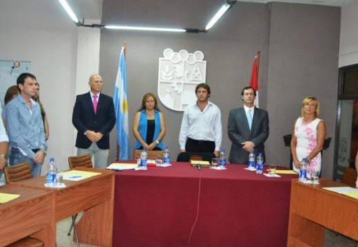 Adrián Marozzi, seguirá al frente del cuerpo legislativo y dio su referencia sobre la apertura de sesiones.