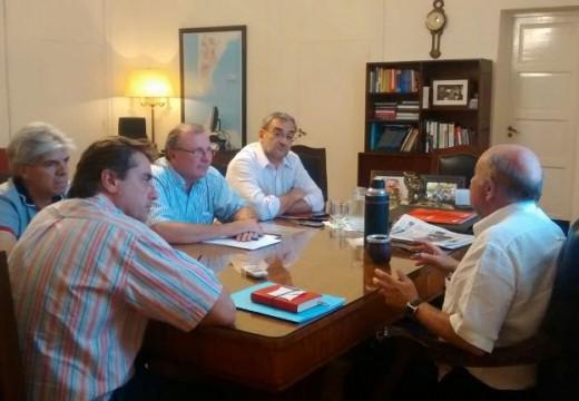 Crossetti se reunió con el Ministro de Salud de la Provincia de Santa Fe Dr. Mario Drisun.
