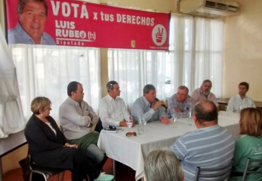 Rubeo: «El domingo habrá un triunfo de los que trabajan por sobre los que especulan».