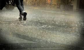 Alerta por probables tormentas fuertes 13-04-2015.