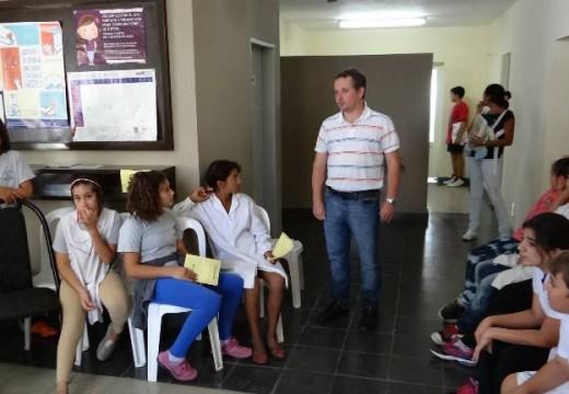 Las Parejas.Comenzó a desarrollarse una nueva etapa del Programa Municipal de Salud.