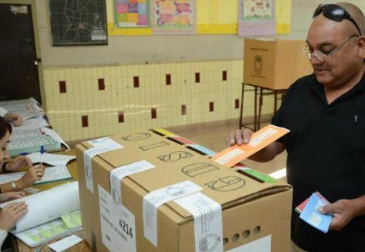 Se constituyeron el cien por ciento de las mesas de votación en toda la provincia.