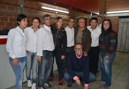 Armstrong. Miguel Torres Del Sel participó de una cena con simpatizantes del Pro.