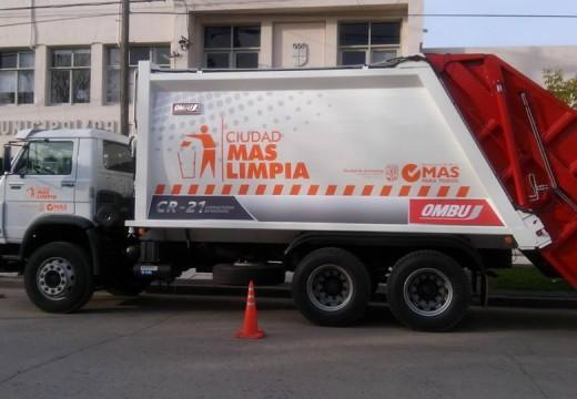 El lunes 25 de mayo habrá recolección de residuos.