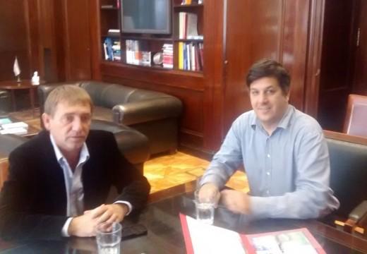 Compagnucci y Mascheroni realizaron varias gestiones ante el Gobierno Nacional.