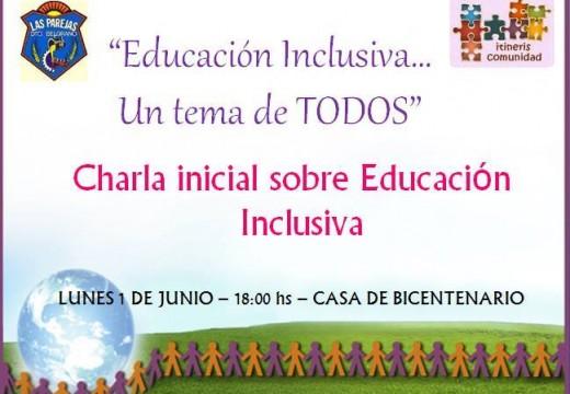 """""""Educación Inclusiva…un tema de todos""""."""