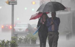 Alerta meteorológico en gran parte de la Provincia.