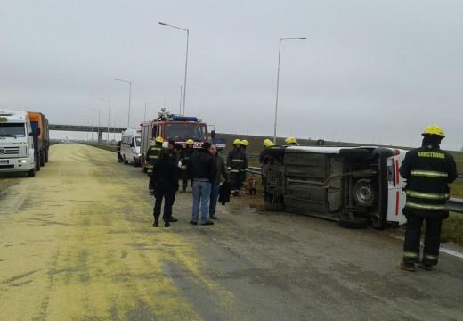 Accidente en Autopista Ruta 178.