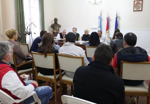 Clérici entregó nuevos créditos a la agencia de desarrollo.