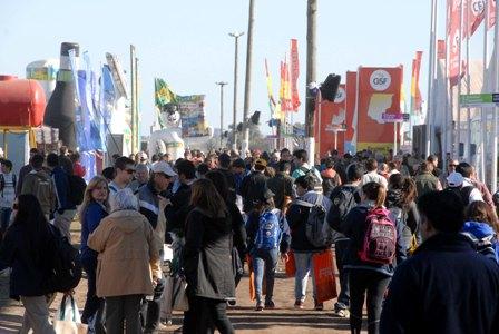 Más de 61 mil personas en el segundo día de AgroActiva.