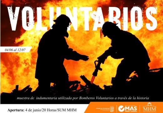 """Apertura de la muestra """"Voluntarios"""" en el MHM."""