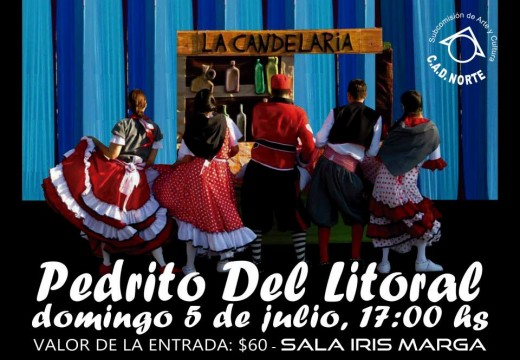 Sala Iris Marga presentará la obra «Pedrito del Litoral».