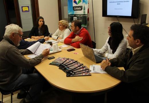 Fudeca y municipio presentaron indicadores económico sociales.