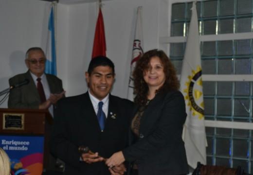 Martín Jaime asumió como nuevo presidente de Rotary.