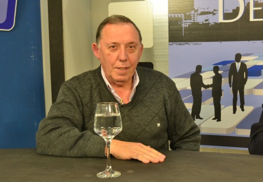"Algo de historia del periodismo deportivo, Jose Luis Cantori, autor de ""Atento Fioravanti""."