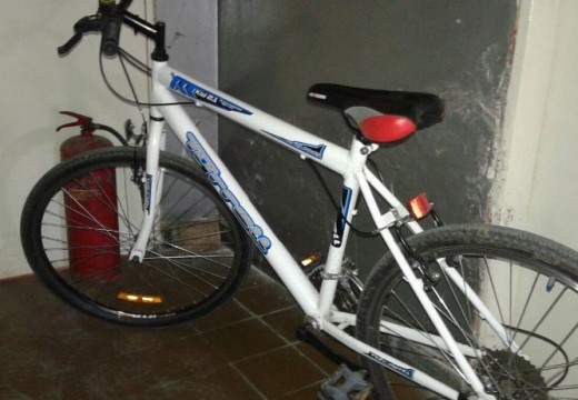 Joven paraguayo sería el autor de robo de bicicletas.