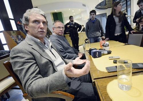 Verdecchia y Meyer se reunieron con Pepe Scioli.