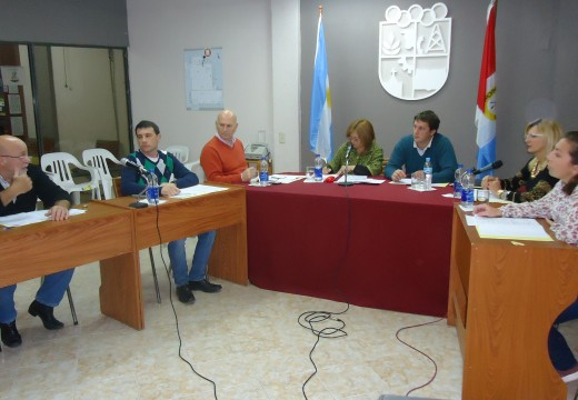 Desagües pluviales tema de agenda del Concejo Municipal.