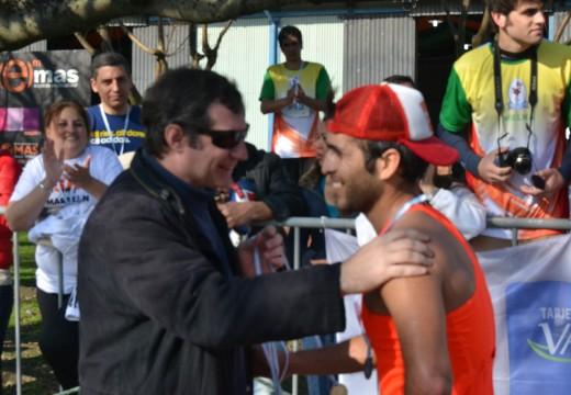 Se concretó 13ª edición de la Maratón Delfo Cabrera con la mayor convocatoria desde sus inicios.