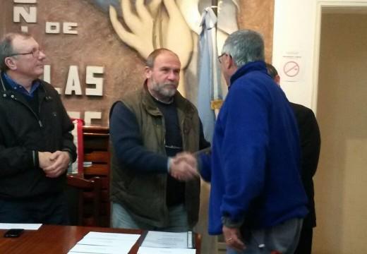 Crossetti realizó una nueva entrega de subsidios a instituciones del Dto. Belgrano