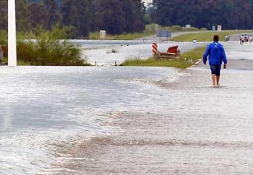 Después de varios días de intensas lluvias, cesó el alerta meteorológico para toda la región.