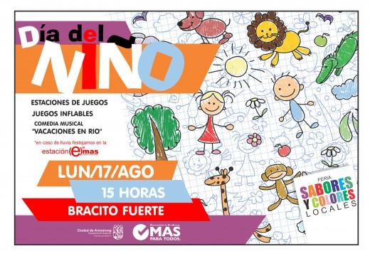 Festejos Día del Niño 2015.