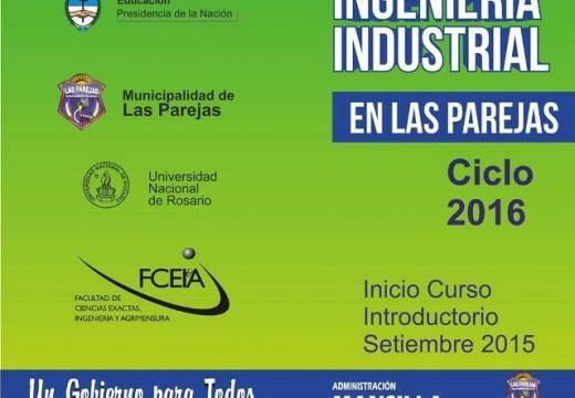 Las Parejas. Cursos introductorios de Ingeniería Industrial.