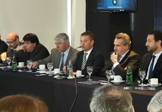 Diego Mansilla y Agustín Rossi se reunieron con representantes de entidades rosarinas.