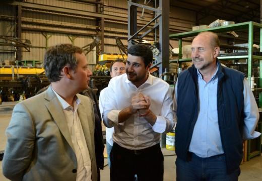 Diego Mansilla destacó la inversión del gobierno nacional en la planta de Fecofé en Armstrong.
