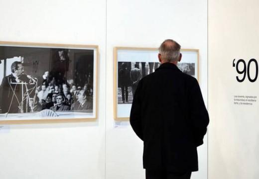 """Inauguración de la Muestra """"30 años de Democracia""""."""