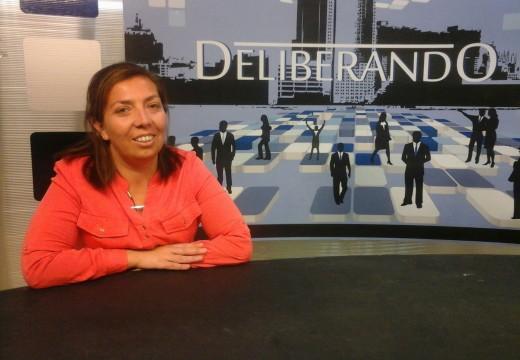 Daniela Pérez aborda temas de interés para la ciudad.