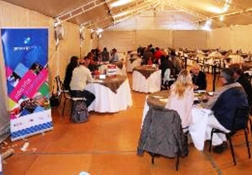 Activa participación del Centro Industrial de Las Parejas en la Muestra Pyme.