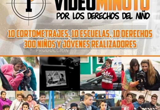 Cañada de Gómez. El municipio estrena los diez cortos sobre derechos del niño.