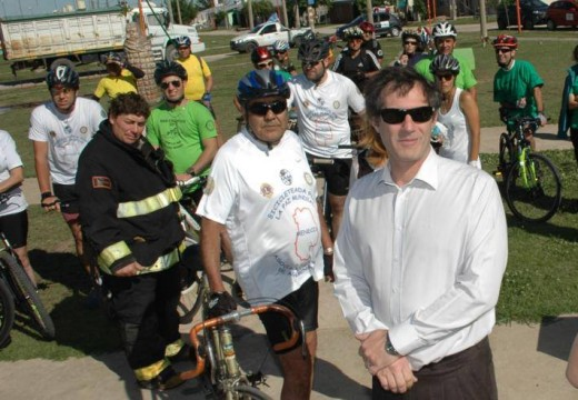 Se realizó la 1ª Bicicleteada Nacional por la Paz del Mundo.