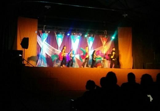 Se concretó el primer Festival de Danzas Arabes.